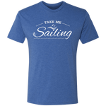 Take Me Sailing Premium Men's Tri-Blend T-Shirt