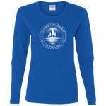 Living The Dream At The Lake Women's Long Sleeve