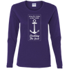 Docking the Boat Women's Long Sleeve