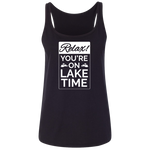 Relax Lake Time Women's Tank Top