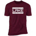 Time Wasted At The Lake Men's T-Shirt