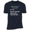 Want To Go To The Boat? Men's T-Shirt