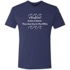 A Rough Day At Sea Is Better Premium Men's Tri-Blend T-Shirt