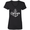 I'm the Captain, Get Over It Women's V-Neck