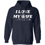 I Love It When My Wife Lets Me Go Sailing Men's Hoodie