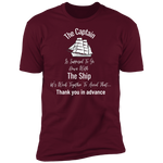 Go Down With The Ship Men's T-Shirt