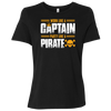 Work Like a Captain, Party Like a Pirate Women's T-Shirt