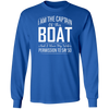 I'm the Captain of This Boat Men's Long Sleeve