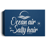 Ocean Air, Salty Hair Deluxe Landscape Canvas 1.5in Frame