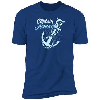 Captain Awesome Men's T-Shirt