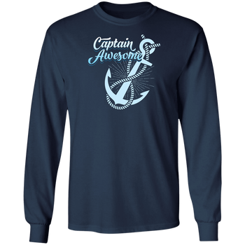 Captain Awesome Men's Long Sleeve