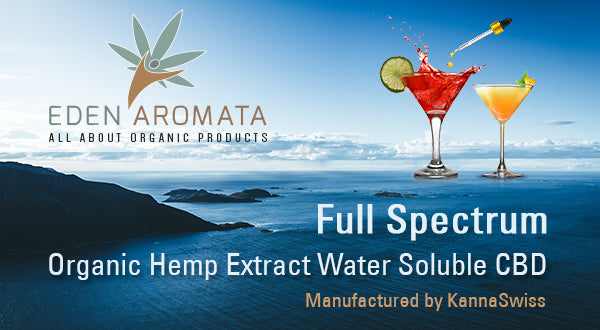 Eden Aromata Launches High Bioavailability Water-Soluble Hemp Extract for the European Market.
