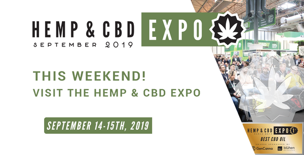 THIS WEEKEND! VISIT THE HEMP & CBD EXPO NEC