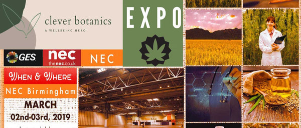 HEMP & CBD EXPO (2 - 3) March 2019 at the NEC