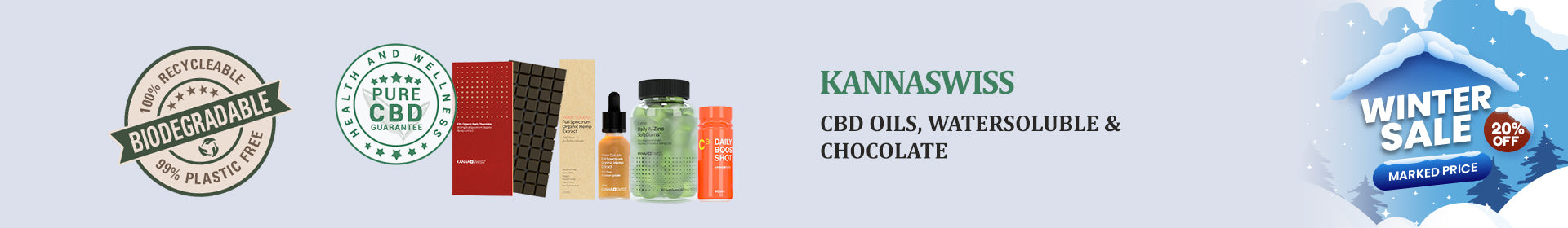 CBD Oils & Concentrates by KannaSwiss