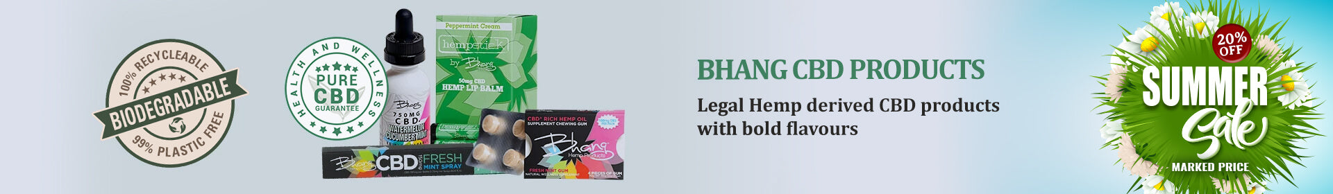 Bhang Group CBD Products