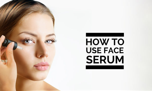 Directions on how to use CBD Serum