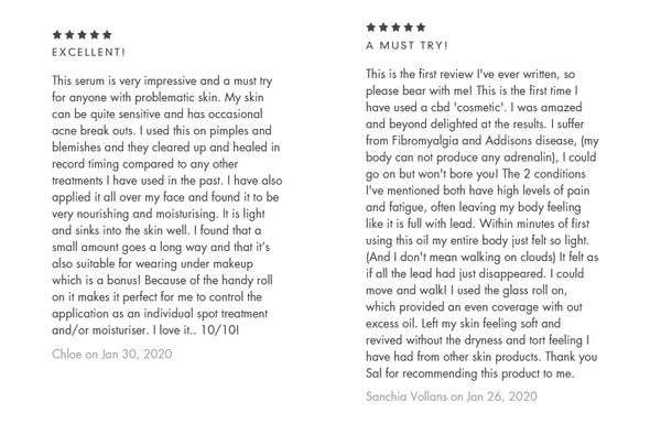 Reviews for @Eden Aromata CBD Serum