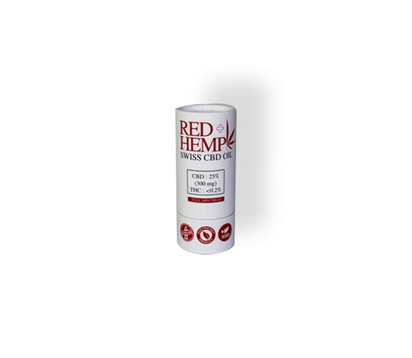 Red Hemp 25% CBD Oil (300mg)