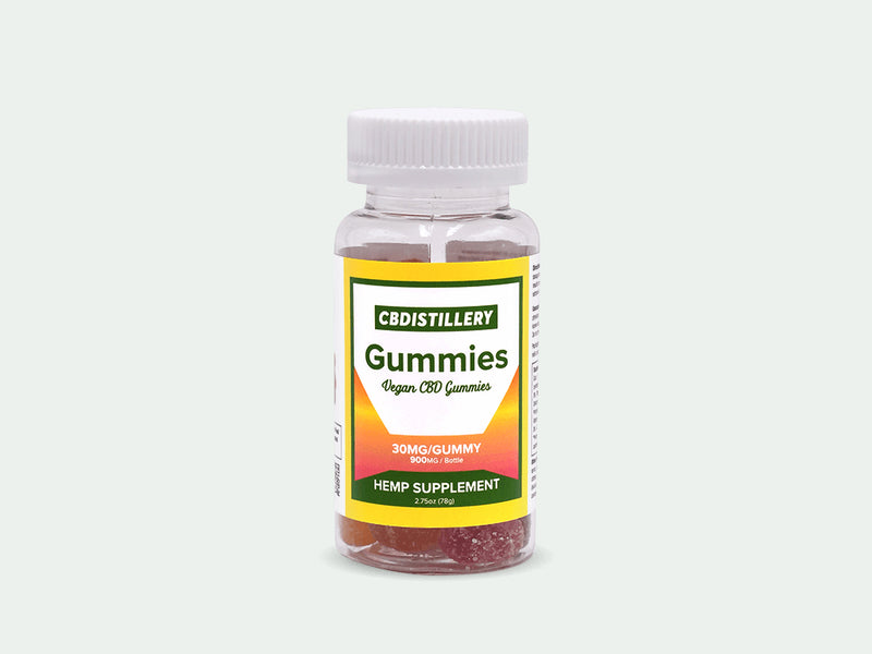 THC Free 30mg CBD Gummies x30 - Day Time