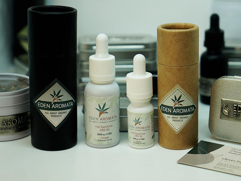 Eden Aromata Full Spectrum Hemp Extract Oil 12% 30ml 3600mg CBD High Strength only £99 after Discount