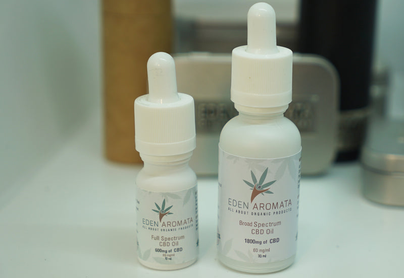 Eden Aromata Broad/Full Spectrum Hemp Extract 12% 10ml 1200mg CBD High Strength from £40 after discount