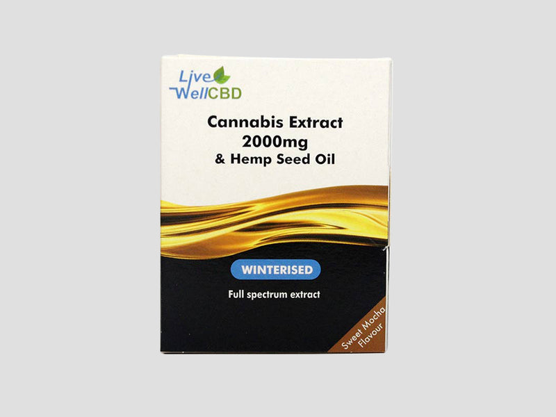 LVWell CBD Winterised (Oral) Full Spectrum 2000mg Full Spectrum Containing 300mg CBD