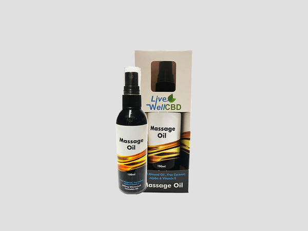 LVWell CBD Cosmetics Massage Oil