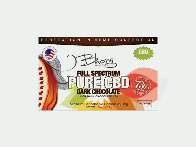 Full Spectrum Pure CBD Chocolates by Bhang