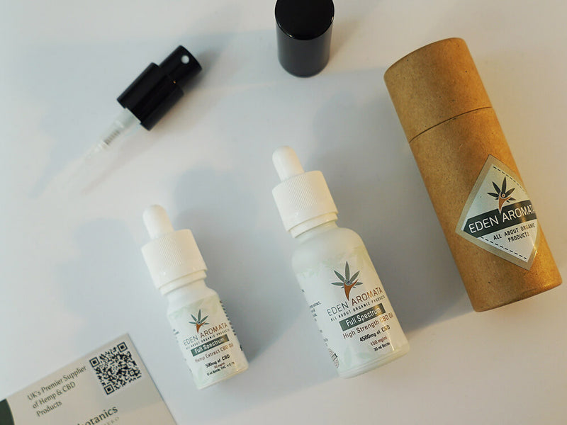 EdenAromata Full Spectrum Organic CBD Oil - 5% & 15% in 10ml and 30ml bottles from £22.4 after discount
