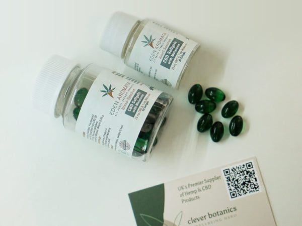 CBD Softgels with Melatonin