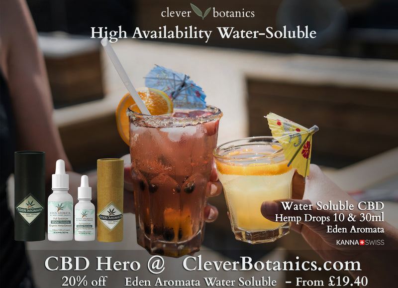 Eden Aromata High Bioavailability Hemp Extract Water-Soluble