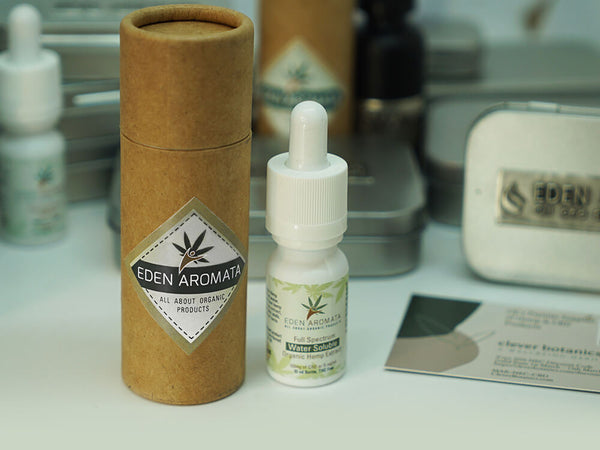 Eden Aromata Full Spectrum Organic Hemp Extract Water Soluble Drops 5% 10ml 50mg CBD