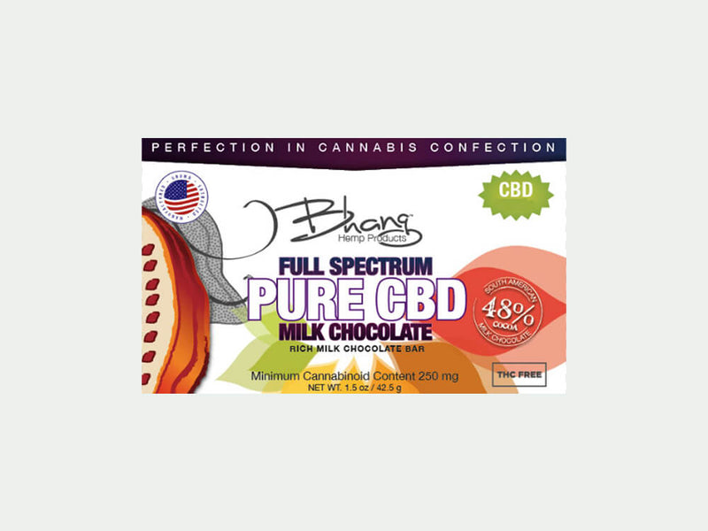 Award Winning Bhang CBD Milk Chocolate