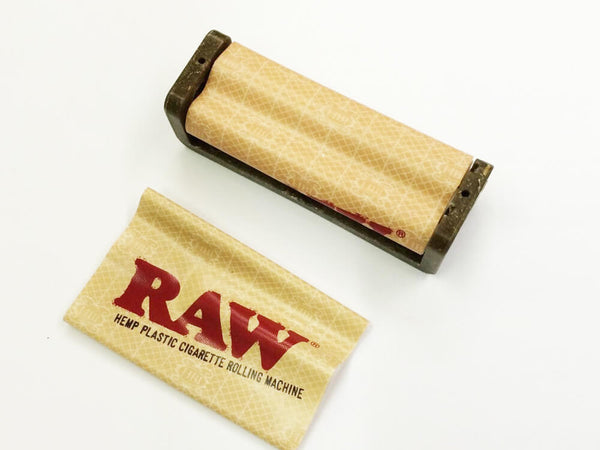 RAW Hemp Coated Plastic Cigarette Genuine Roller Rolling Machine