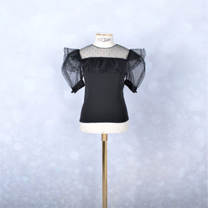 Black Cockateil Blouse