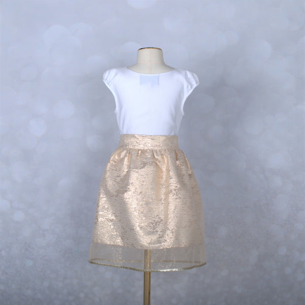 Golden Parakeet Skirt