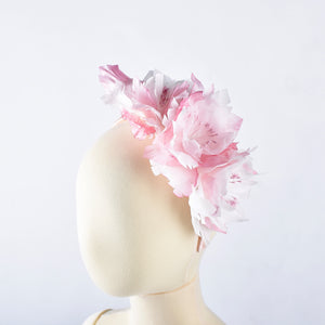Pink Plain Rose Headband