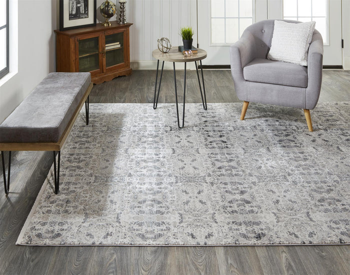 Cadiz 3990F in Dark Gray/ Ivory