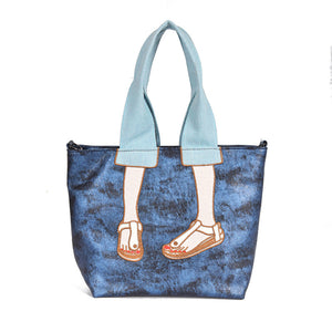 Embroidery Large Capacity Tote Bag