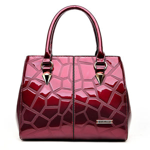 Stone Pattern Luxury Shoulder Bag