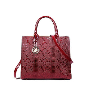 Luxury Patent Leather embossed Bag
