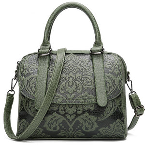 Luxury Pu Leather Embossed Bags
