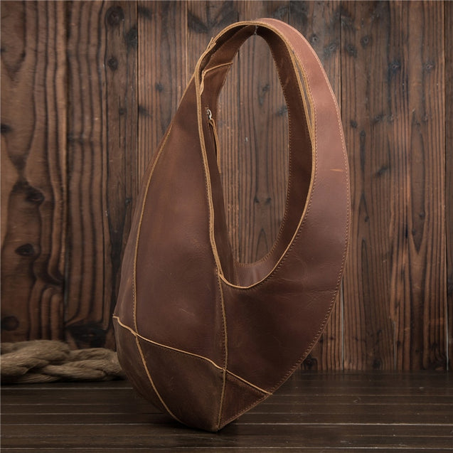 Genuine Leather Anti-theft Backpack