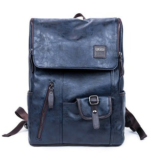 Oil Wax Leather Backpack