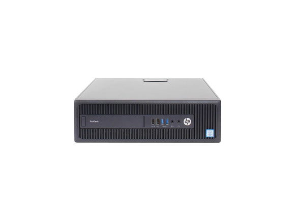 HP Desktop Computer ProDesk 600 G2 Intel Core i5 6th Gen 6500 (3.20 GHz) 8 GB DDR4 512GB SSD Windows 10 Home, Refurbished