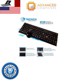 USB Wired Keyboard and Wired Mouse Bundle Pack Support Windows 10/8/7/Vista/XP, Mac, Linux, Black