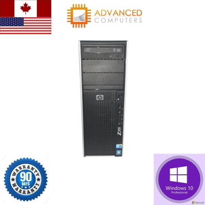 HP Z400 Workstation Xeon QuadCore W3550 32GB 1TB HDD 240GB SSD Win10 Pro