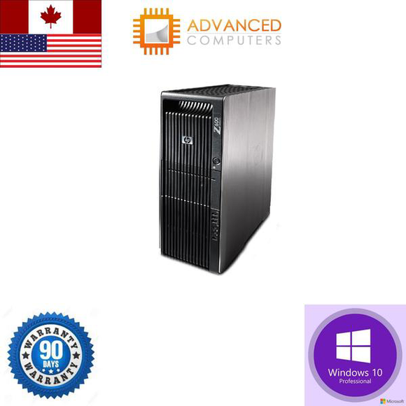 HP Z600 Workstation Xeon X5650 3Dimm Slots 12GB 1TB HDD Win10 Pro