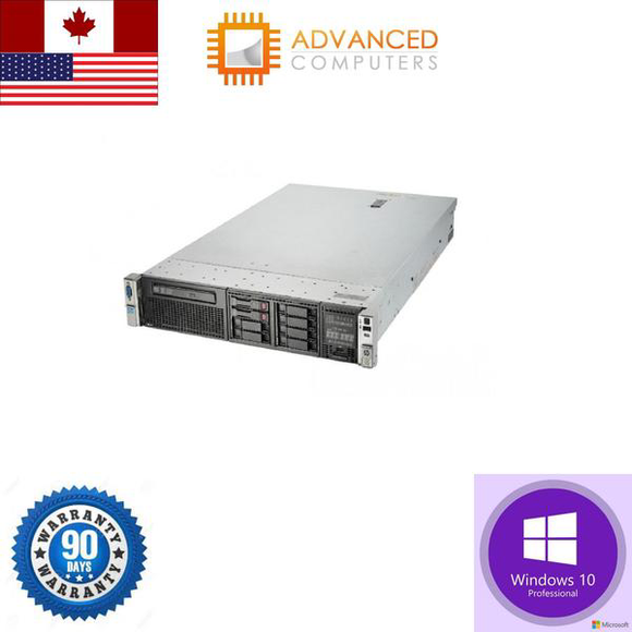 HP Proliant DL380P GEN8 Xeon E5-2690 2.9GHz 192GB 4X1TB 2.5